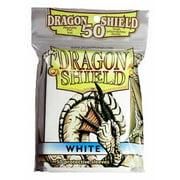 White Dragon Shield 50 Count Standard Sleeves Fantasy Flight Games