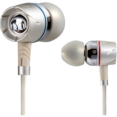 Monster Turbine Pearl High Performance Noise Isolating In-Ear Speakers with ControlTalk