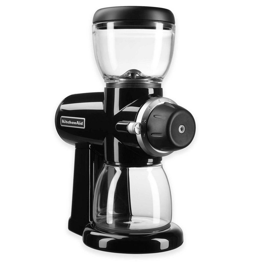KitchenAid KCG0702OB Burr Coffee Grinder, Onyx Bla