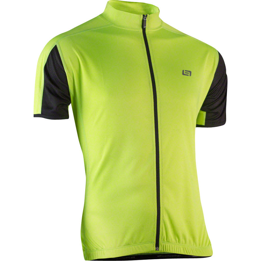 Bellwether Men's Criterium Cycling Jersey Hi-Vis LG