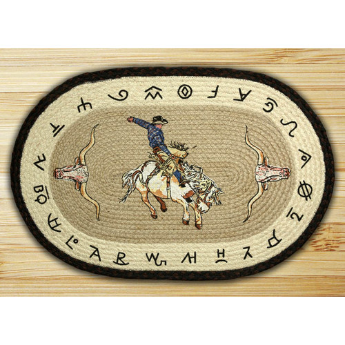 Earth Rugs Bronco Printed Area Rug