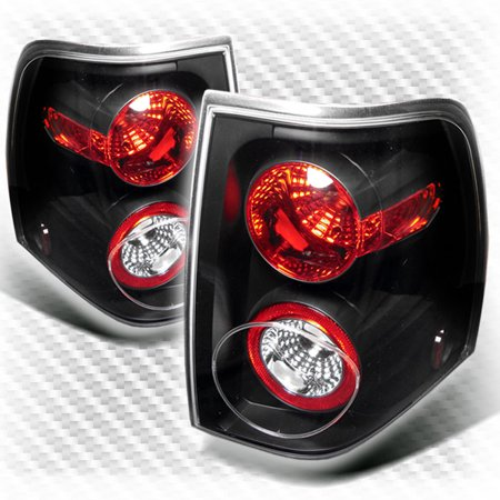 For 2003 2006 Ford Expedition Altezza Black Tail Light Rear Brake Lamp New Pair Left Right 2004 2005