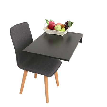 ALEKO Wall-Mounted Folding Drop Leaf Table - 27.5 x 18 Inches ...