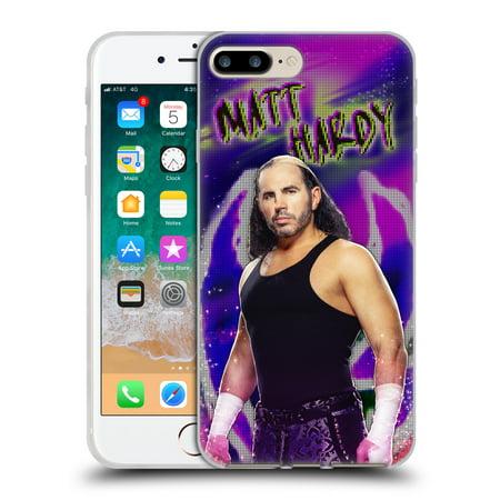 OFFICIAL WWE MATT HARDY SOFT GEL CASE FOR APPLE IPHONE PHONES