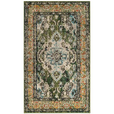 Bungalow Rose Annabel Green Area Rug Walmart Com