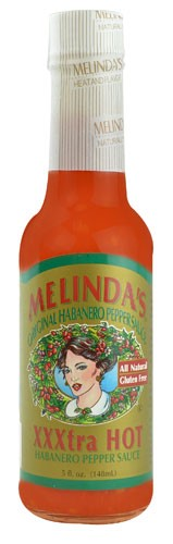 Melindas Pepper Sauce, Original Habanero, XXXtra Hot by Melinda's