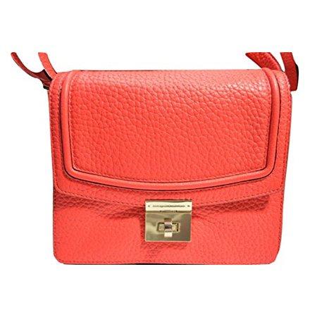 Kate Spade Everett Way Merrick Leather Shoulder Crossbody Bag  Geranium