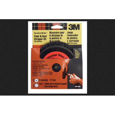 3M 9419NA Scotch-Brite Paint and Rust Stripper Kit Flat