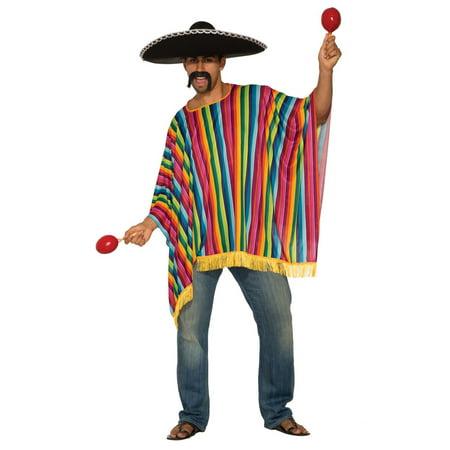 Mens Poncho Halloween Costume