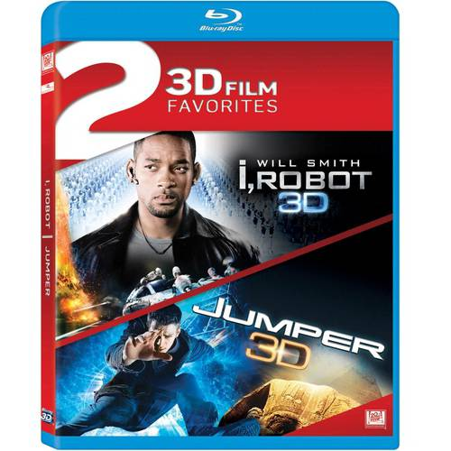 2 3D Film Favorites: I, Robot / Jumper (3D Blu-ray) FOXBR2298843