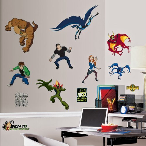 RoomMates Ben 10 Peel and Stick Wall Decals
