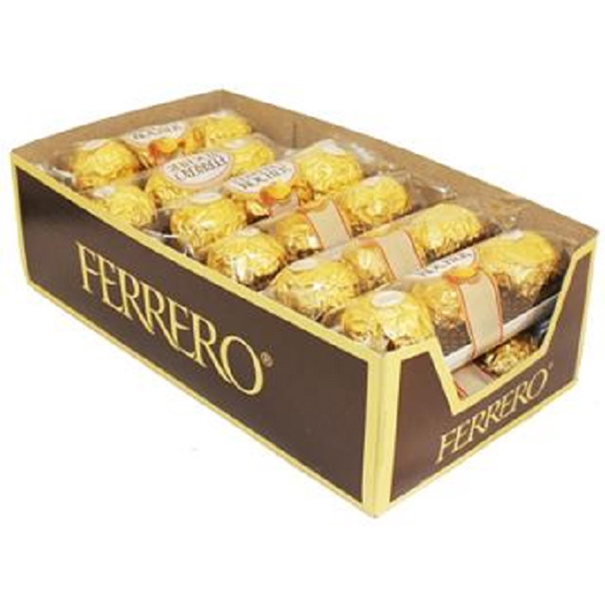 Product Of Ferrero Rocher, King Size Hazelnut Chocolate, Count 12 (3Pk) - Chocolate Candy / Grab Varieties & Flavors
