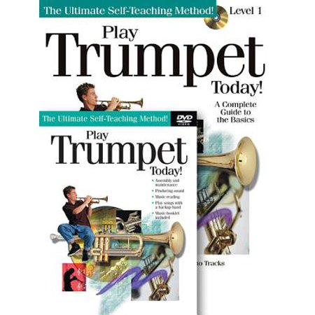 Play Trumpet Today! Beginner's Pack : Book/CD/DVD