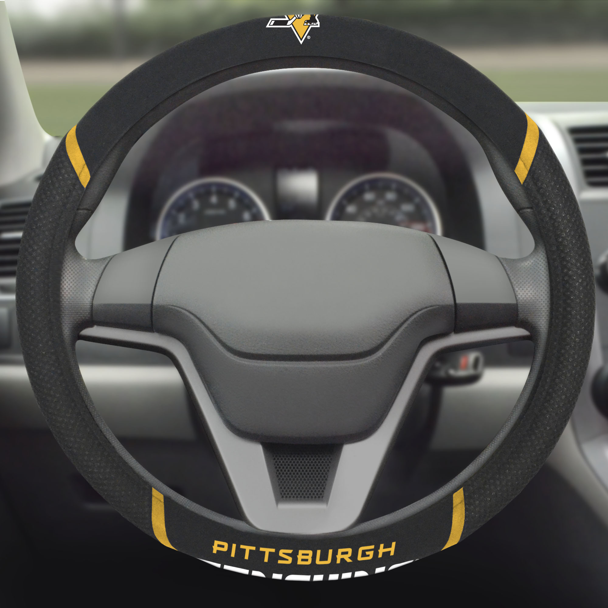 Pittsburgh Penguins Steering Wheel Cover - No Size