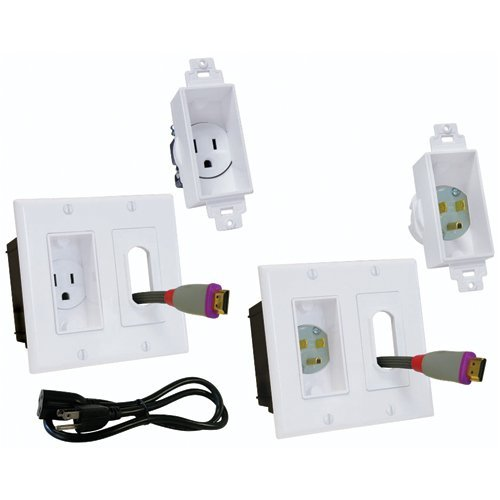 Midlite 2a46-w-3 Dcor In-wall Power Solution Kit (2a46w3)