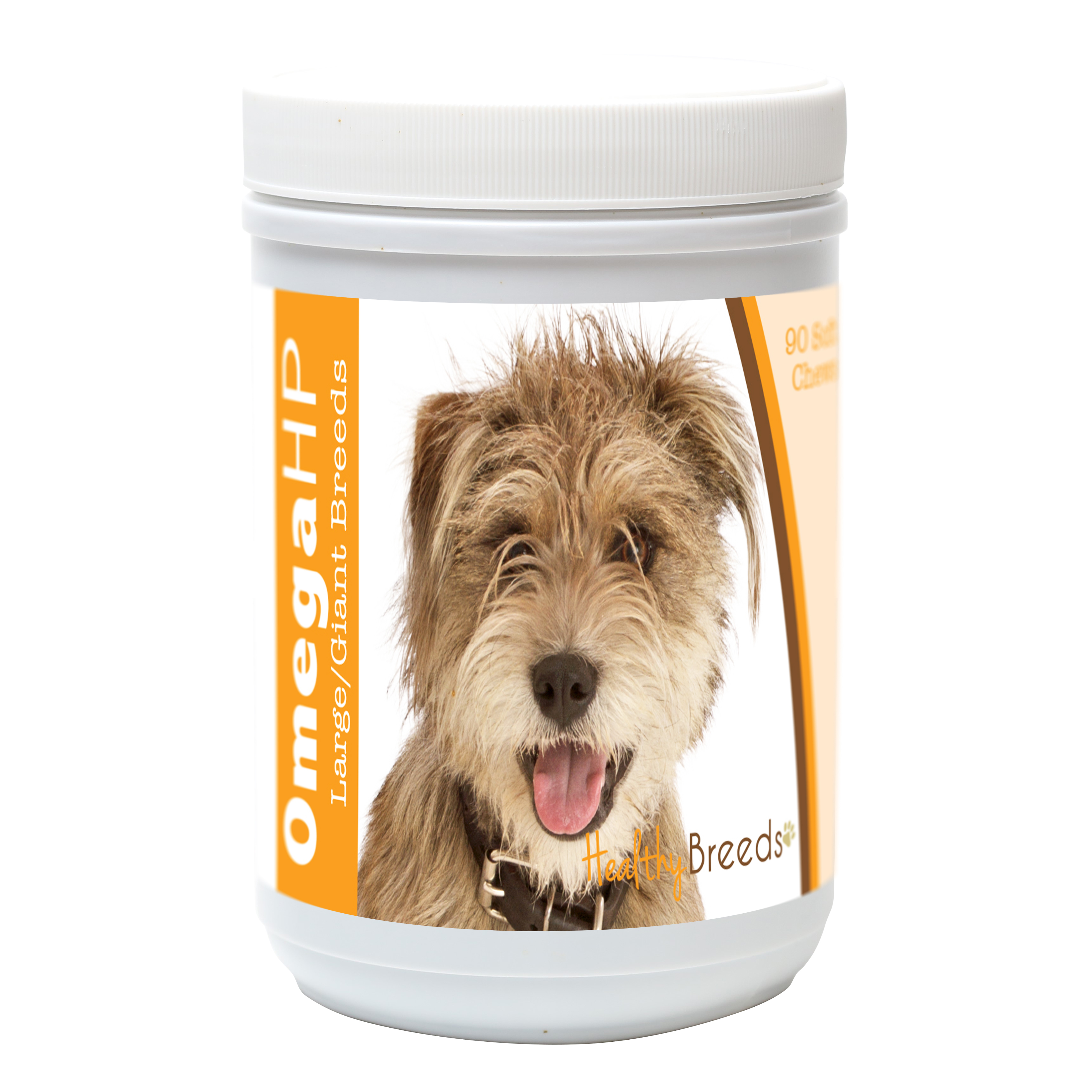 Healthy Breeds Mutt Omega HP Fatty Acid Skin and Coat Support Soft Chews