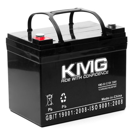 KMG 12V 33Ah Replacement Battery for Mansfield Smec 1300M INTRA AORTA BALLOON PUMP - image 3 de 3