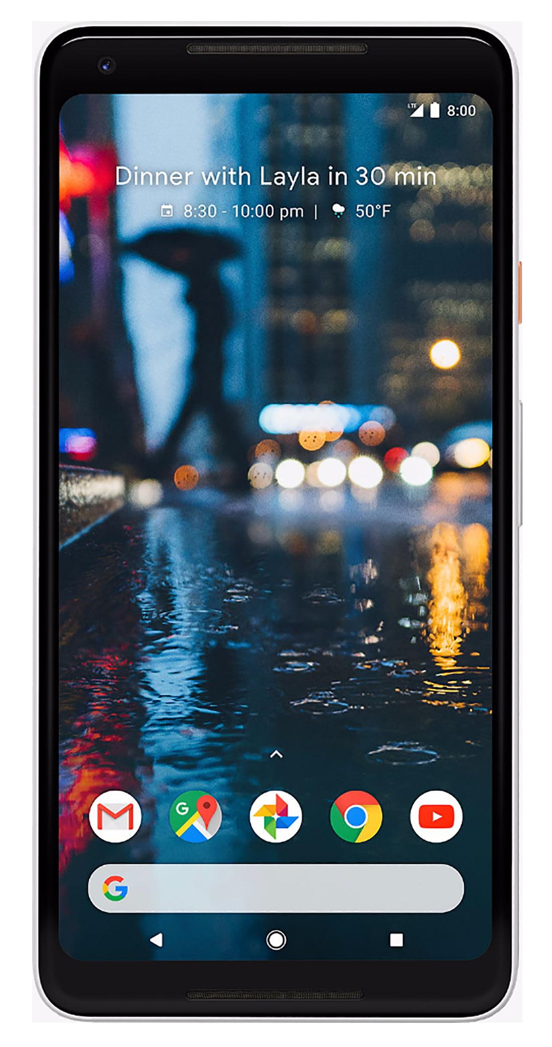 Google Pixel 2 XL 128GB Unlocked GSM/CDMA 4G LTE Octa-Core Phone w/...