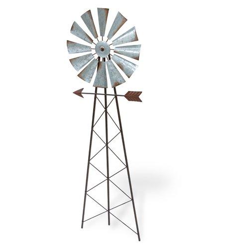 August Grove Ferrera Windmill Ground Garden Stake by