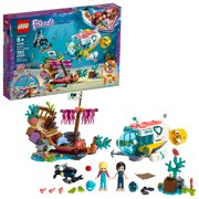 LEGO Friends Dolphins Rescue Mission 41378 Building Toy with Sea Animals for Creative Play (363 pieces)