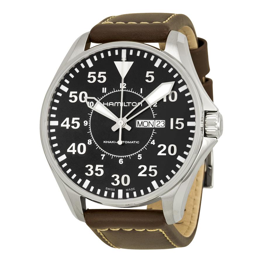 Hamilton Khaki Pilot Automatic Mens Watch H64715535 by Hamilton