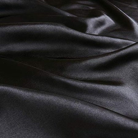 Madison Park Essentials Satin 6Piece Sheet Set Cal King Black,Cal King - image 2 of 5