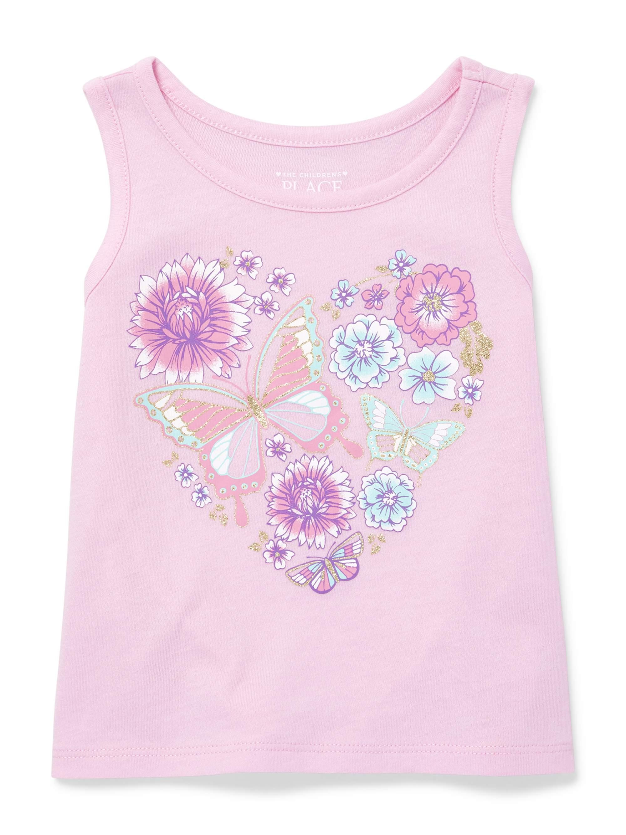 Graphic Tank (Baby Girls & Toddler Girls)