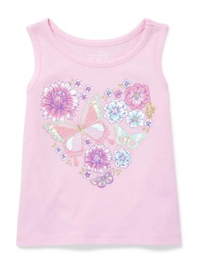 5871430a Product Image The Children's Place Graphic Tank (Baby Girls & Toddler ...