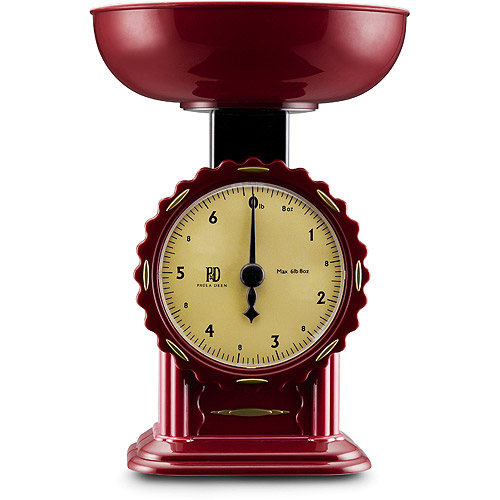Paula Deen Retro 7-lb. Red Scale
