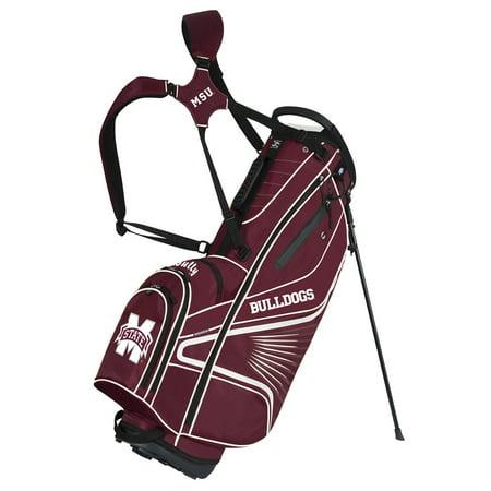 Team Effort Mississippi State Bulldogs GridIron III Stand Golf Bag