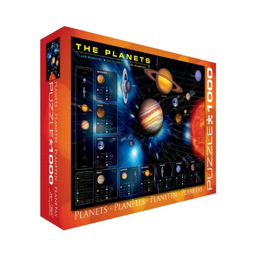 EuroGraphics The Planets Puzzle (1000-Piece)