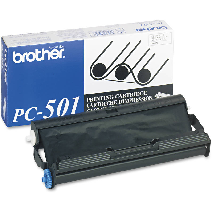 Brother PC501 Black Thermal Transfer Ribbon