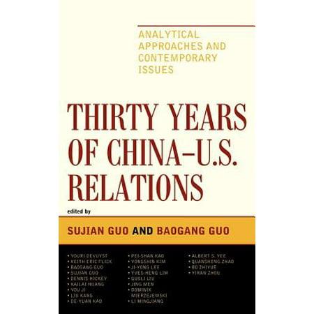 Thirty Years of China - U.S. Relations - eBook