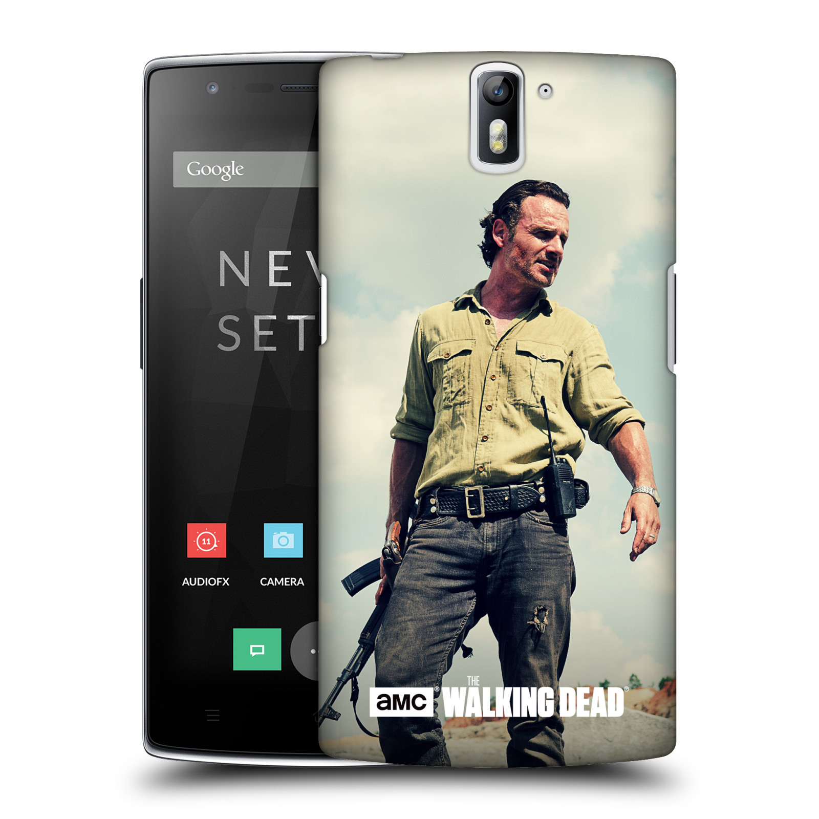 OFFICIAL AMC THE WALKING DEAD RICK GRIMES HARD BACK CASE FOR ONEPLUS ASUS AMAZON
