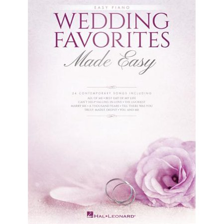 Hal Leonard Wedding Favorites Made Easy (Wedding Favorites)