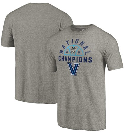 Villanova Wildcats Fanatics Branded 2018 NCAA Men's Basketball National Champions Dunk Tri-Blend T-Shirt - Gray 2005 Ncaa National Champions