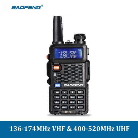 BF-F8+ Rechar ge able Walkie Talkies Two Way Radios for Adults with Channel  Lock Emergency Alarm Programmable Keyboard
