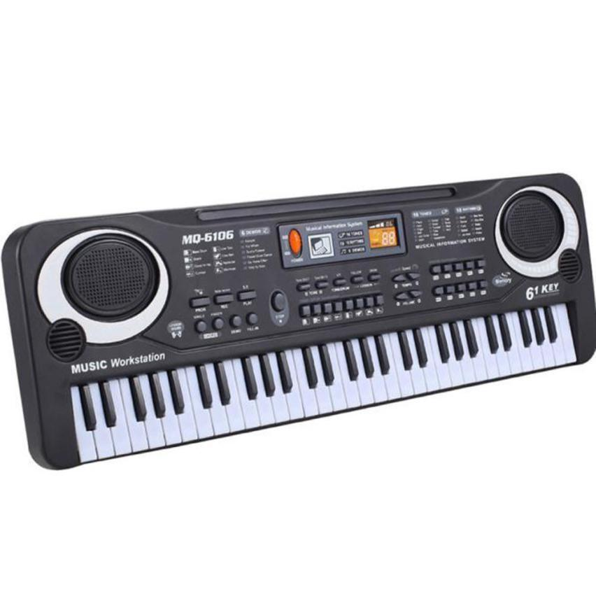 6104 Electric Piano Keyboards 61 Keys Music Electronic For Kids Electric Piano Organ
