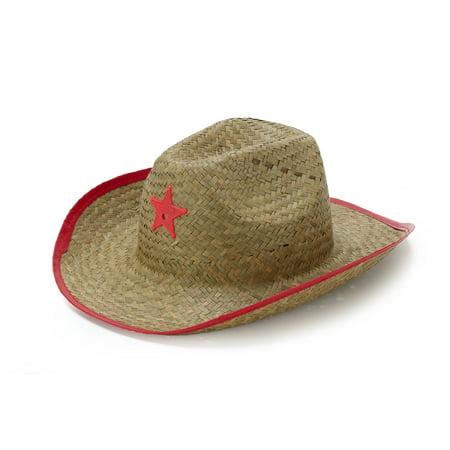 Child Straw Cowboy Hat - Western Wear - Cowboy Hats Kids