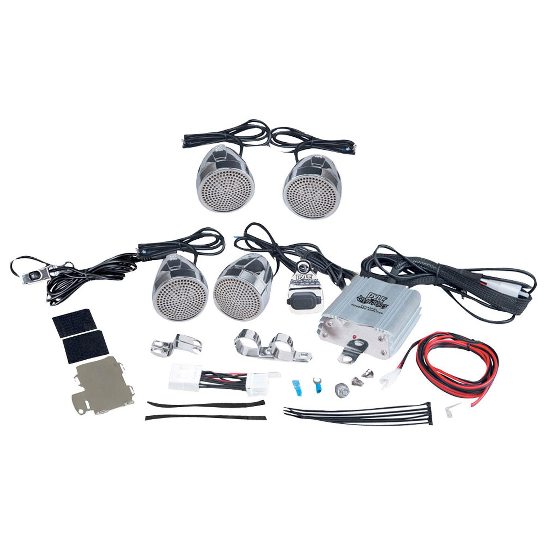 Pyle 1200 Watts Motorcycle/ATV/Snowmobile Mount Amplifier...