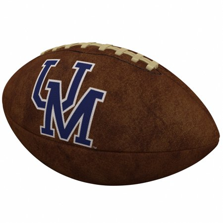 Ole Miss Rebels Official-Size Vintage Football Michigan Wolverines Brown Football