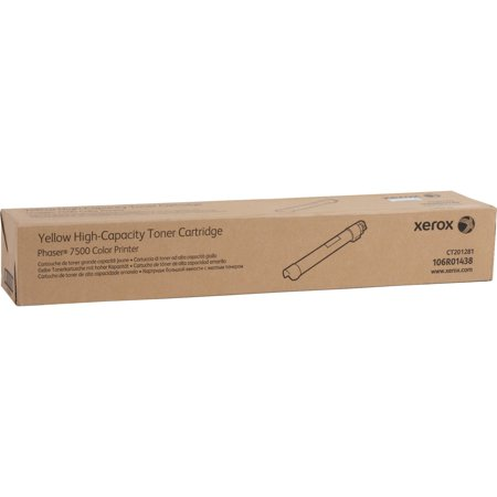 - Xerox, XER106R01438, Phaser 7500 High-capacity Toner Cartridge, 1 Each