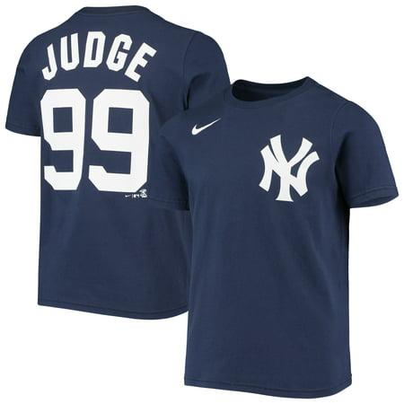 Aaron Judge New York Yankees Nike Youth Name & Number T-Shirt - Navy