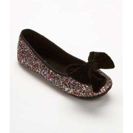 35c7415b8cbe kate spade new york - kate spade new york Sussex Glitter Ballet Slippers -  Walmart.com