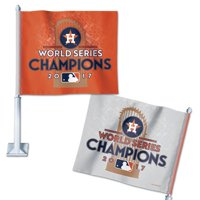 Houston Astros WinCraft 2017 World Series Champions On Field Celebration Car Flag