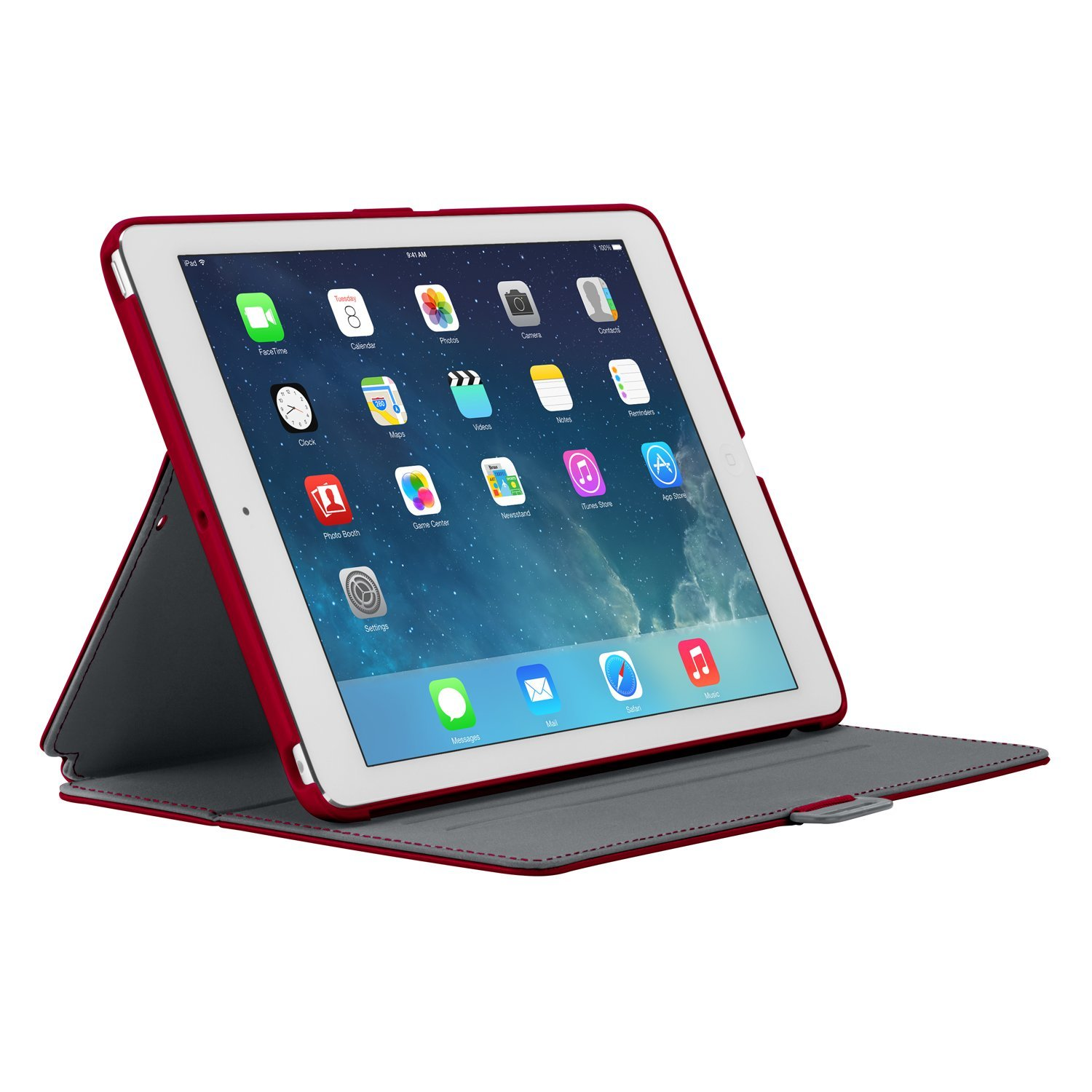 New Speck StyleFolio Case Stand SPK-A2249  for iPad - RED