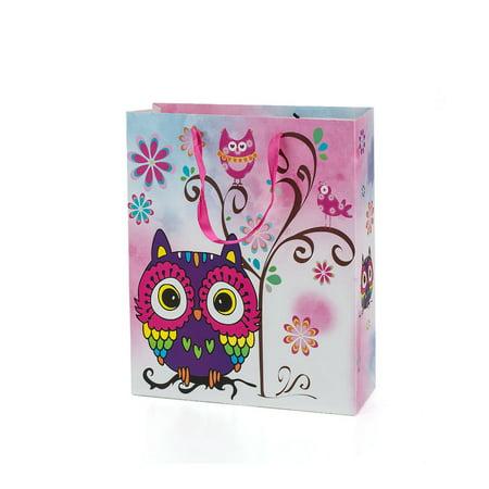 Gift Bag Present Bag Owl Design Medium Size Mix Pack 32*26*10cm 3Pcs LIVINGbasics™ - image 1 of 4