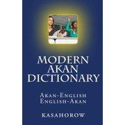 Modern Akan Dictionary