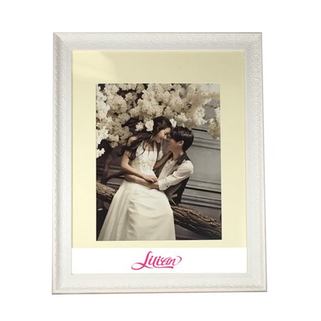 Lilian 22x28 White Photo Frame - Made to Display Picture 16x20 with ...