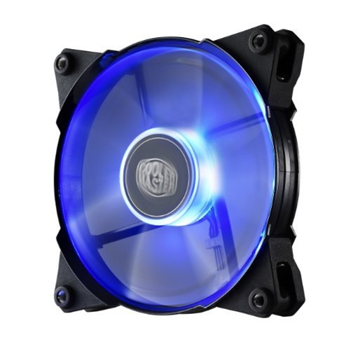 Cooler Master JetFlo 120 - POM Bearing 120mm Blue LED High Performance Fan